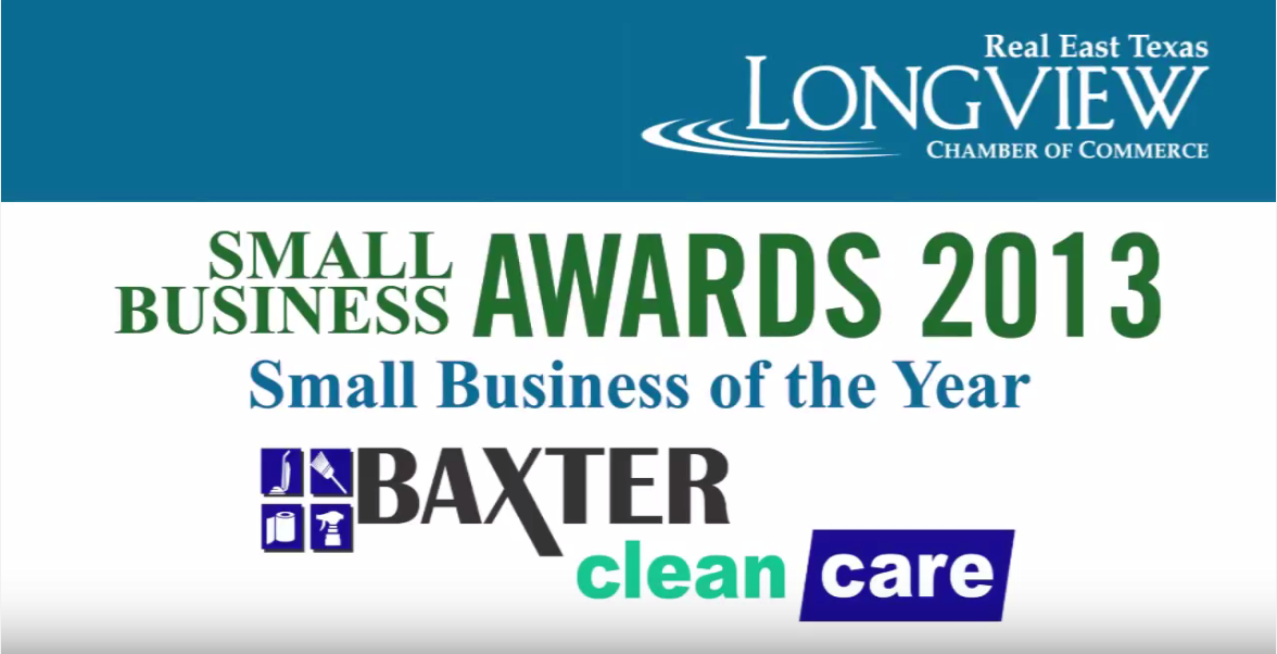 Small Business of the Year Award 2013 – Baxter Clean Care
