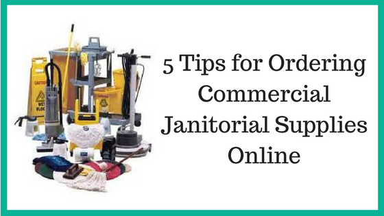 commercial janitorial supplies online