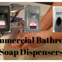 commercial bathroom soap dispenser